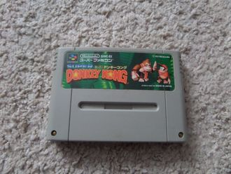 Super Donkey Kong Super Famicom SNES Super Nintendo