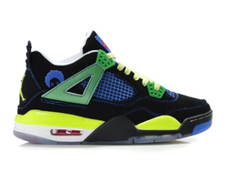 Nike Air Jordan 4 IV Retro Men Superman Унисекс черные (41-45)