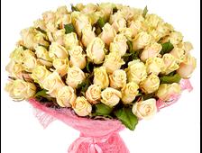 Крем (101 роза)
