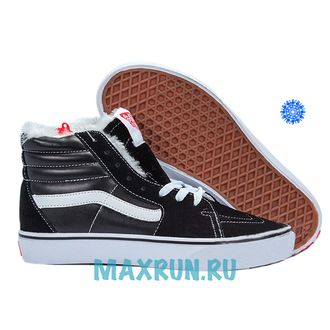 Vans Old Skool with Fur Men Black/White (41-45)