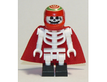 Douglas Elton / El Fuego - Skeleton with Cape, Black Square Foot, n/a (hs044)