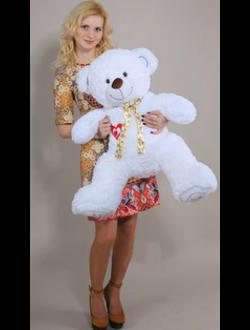 Медведь с сердцем 90см