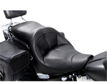 FA-DGE-0317 Сиденье для Harley Davidson Softail DANNY GRAY SEAT-BENCH TOURIST 2-UP AIR BLACK VINYL