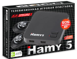 Hamy 5 - Dendy + Sega (505-in-1) Black