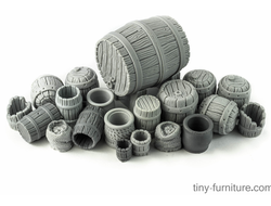 Barrels kit (unpainted)