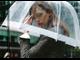 прозрачный зонт, зонтик, от дождя,  Birdcage, umbrella, женский зонтик, зонт - трость, белая полоса