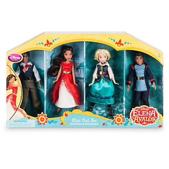 Набор мини куколок: Елена, Матео, Наоми и Гейб / Elena of Avalor Mini Doll Set