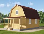 Проект дома 6*8 с мансардой -Д8