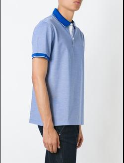"Boss hugo Boss футболка-поло ""Prout"", цвет синий"