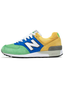 NEW BALANCE 576 GREEN BLUE YELLOW
