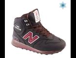 New Balance 1300 С МЕХОМ мужские коричневые