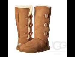 UGG® BAILEY BUTTON TRIPLET - Высокие Угги на трех пуговицах (от 249$)