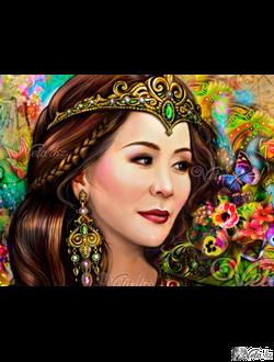 Эксклюзивный портрет для @gulzada_shakulikova
