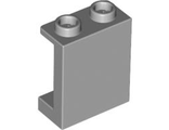 Panel 1 x 2 x 2 with Side Supports - Hollow Studs, Light Bluish Gray (87552 / 4593679)
