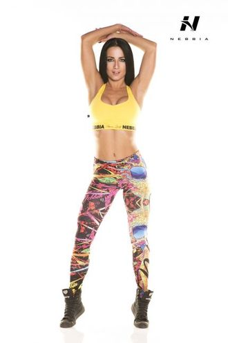 Леггинсы LEGGINGS ART SKULL 881