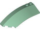 Wedge 8 x 3 x 2 Open Left, Sand Green (41750 / 4162715 / 4288381 / 6258376)