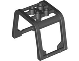 Windscreen 6 x 4 x 3 1/3 Roll Cage, Black (64450 / 4539385 / 6240526)