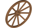 Wheel Wagon Giant 56mm D., Medium Nougat (33212 / 6212675)