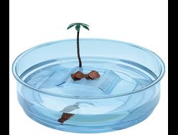 Ferplast Oasi чаша террариум для черепах с островком