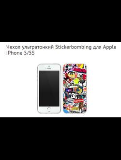 Чехол ультратонкий Stickerbombing для Apple iPhone 5/5S