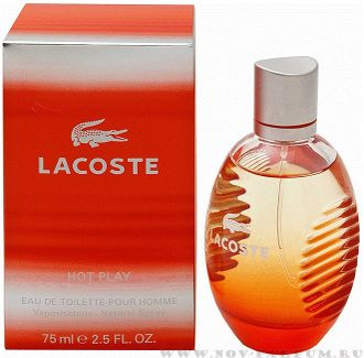 "Lacoste ""Hot Play"", 125 ml"