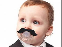 """Ортопедическая соска-пустышка """"Усы"""" для детей от 4 месяцев"""