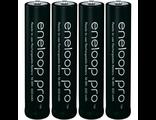 4 AAA Eneloop Pro, BK-4HCDE 900mAh