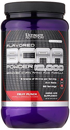 Ultimate Nutrition BCAA  12000 powder (400 гр)