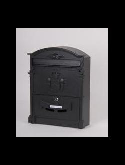 Почтовый ящик серый