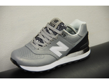 NB 574 Gradient Silver