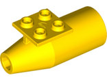 Engine, Smooth Large, 2 x 2 Thin Top Plate, Yellow (4868b / 4214089 / 4501921 / 6186384)