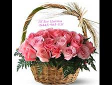 корзина из 35 роз