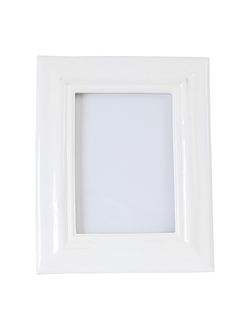 Фоторамка 21X26CM PHOTO FRAME PURE WHITE  POLYRESIN 29963