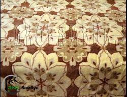 Плед из бамбука Большие цветы узор 190х220