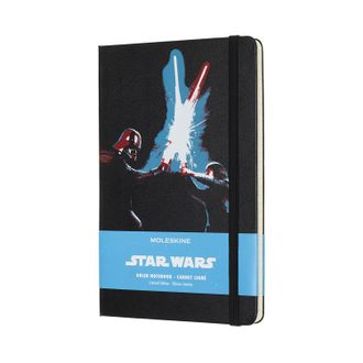 Блокнот Moleskine Star Wars Lightsaber Duel (Largeй, черный, в линию)
