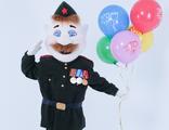 Аренда ростовой куклы Солдат (9 мая, 23 февраля, День победы)