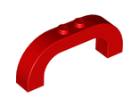 Brick, Arch 1 x 6 x 2 Curved Top, Red (6183 / 6105974 / 6132777)