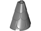 Tower Roof 2 x 4 x 4 Half Cone Shaped with Roof Tiles, Dark Bluish Gray (35563 / 6230280)