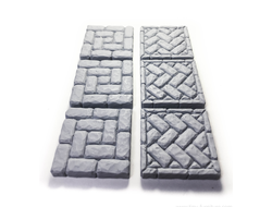 "Brickwork floor tiles 1.5"" (unpainted)"