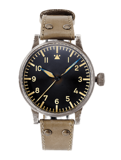 купить Часы мужские LACO PILOT WATCH ORIGINAL REPLIKA 55 ERBSTUCK 42 MM HANDWINDING
