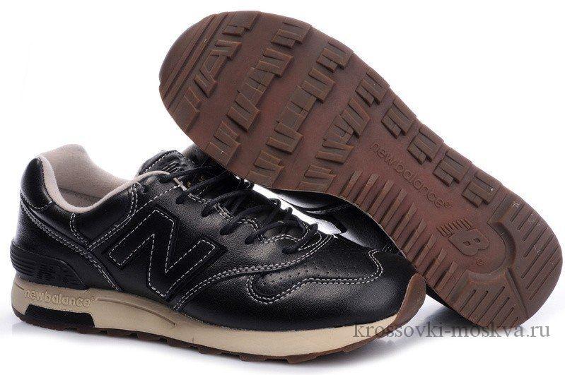 New Balance 1400 темно-коричневые кожаные (артикул-7)