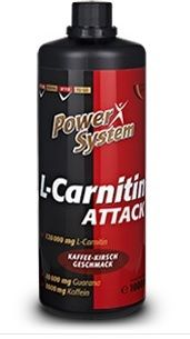 Power System L-Carnitine Attack 1000 мл