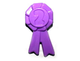 Friends Accessories Award Ribbon with Number 2, Medium Lavender (92355f / 4599682)