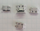 Разъем зарядки microusb №9 Explay Hit 3G, Leader, S02 3G, Lenovo IdeaTab S6000, Surfer 7.03,  Surfer 777 3G, 7.32 3G,  7.34 3G, Alcatel One Touch POP 7 P310A