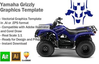 YAMAHA GRIZZLY 2007 - 2014 [459]