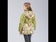 Куртка для девочек C5808, Jan Steen ( цвет зеленый сзади)