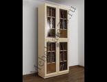 Универсальный книжный шкаф с витражными дверьми ШкКн(2)№2