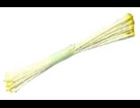 Тычинки 5х80 мм желтые уп.25 шт.