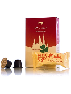 Кофе в капсулах NYXpresso, Irish Cream, 10 порций