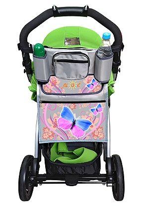 Органайзер на коляску Бабочки